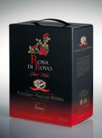 ROSA di ROVO Brachetto en Moscato nero Bag in Box van 3 liter (is gelijk aan 4 flessen!!)